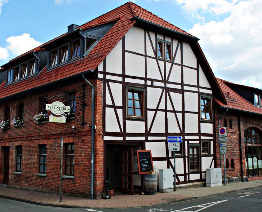 Außenansicht Hotel Neue Stuben Wolfsburg